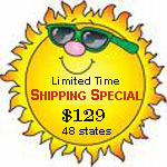 Special shipping rates on RV Furniture, RV Captains Chairs, RV High Back Seats, RV Replacement Seats.